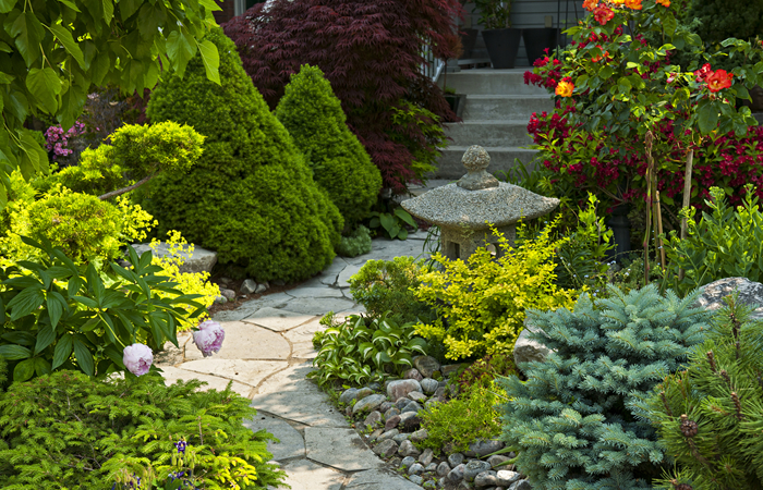 Forestell landscape design snow removal services gta for Home garden landscape designs